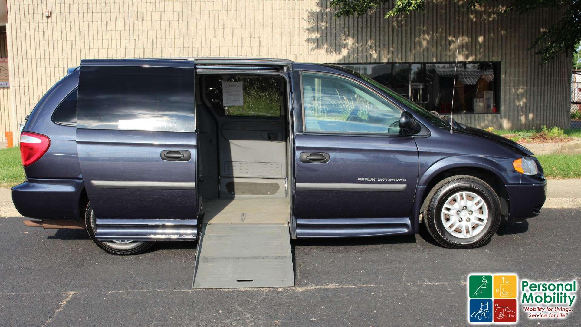 2007 Dodge Grand Caravan Stock 7b256176 Wheelchair Van For Sale Personal Mobility