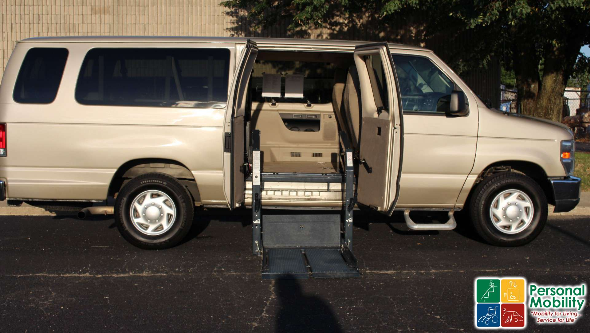 2009 ford econoline wagon stock 9da63261 wheelchair van for sale personal mobility