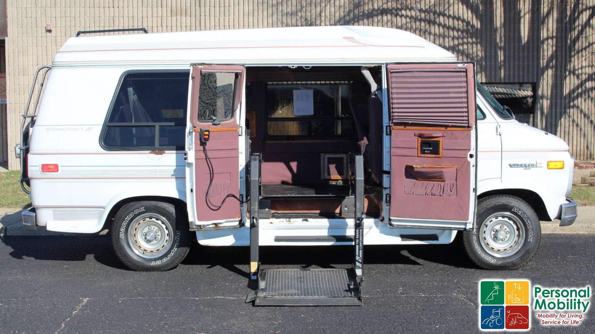 1995 Gmc Vandura Stock Wheelchair Van For Sale Personal Mobility