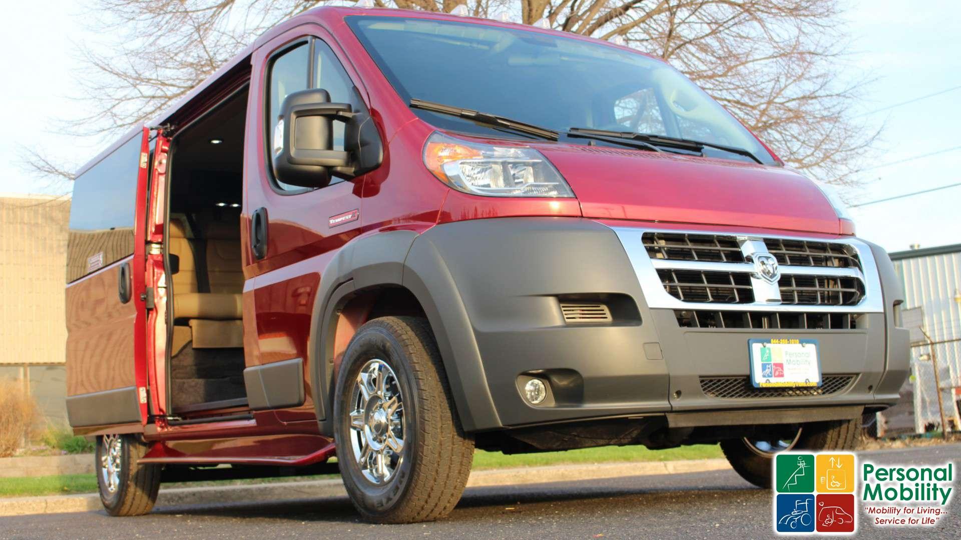 2018 Ram Promaster Cargo Van | Stock: JE117833 | Wheelchair