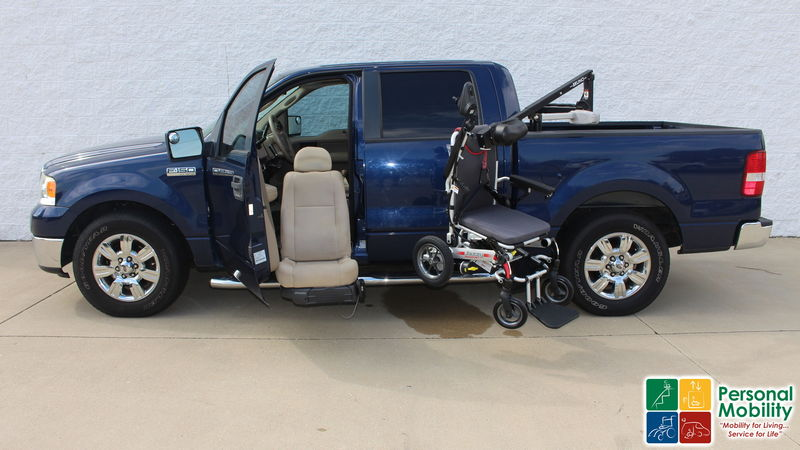 2008 Ford F-150 Non Branded Please See Descriptionwheelchair van for sale